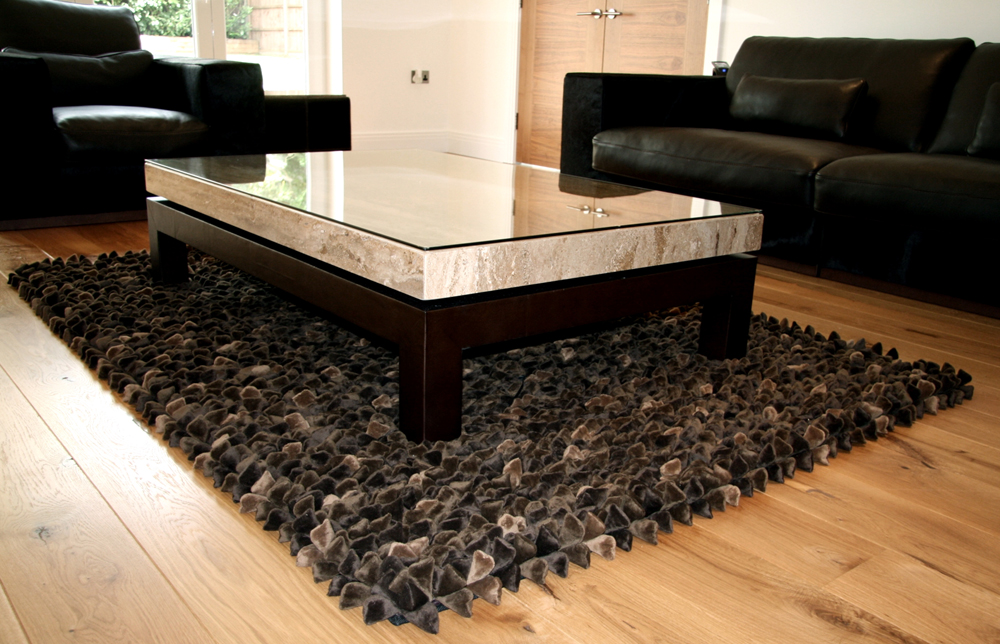 Pebble Chocolate Rug web2