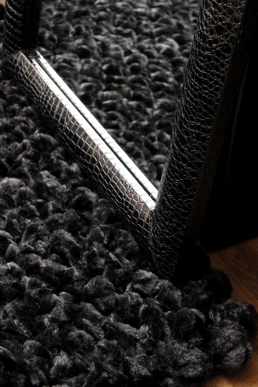 Shimmer Black rug
